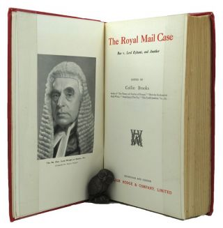 THE ROYAL MAIL CASE. Lord Kylsant, H. J. Morland, Colin Brooks