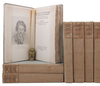 THE COLLECTED WORKS OF WILLIAM MORRIS. William Morris