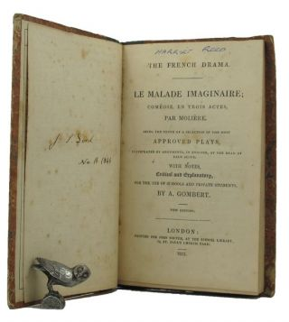 THE FRENCH DRAMA. Moliere, Jean-Baptiste Poquelin, Pseudonym