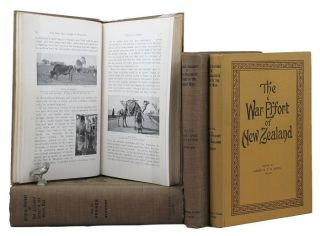 OFFICIAL HISTORY OF NEW ZEALAND'S EFFORT IN THE GREAT WAR. Major Fred Waite, Col. H. Stewart,...