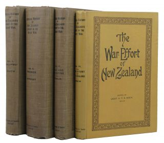 OFFICIAL HISTORY OF NEW ZEALAND'S EFFORT IN THE GREAT WAR.