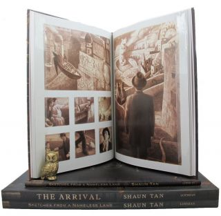 THE ARRIVAL and SKETCHES FROM A NAMELESS LAND. Shaun Tan