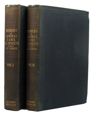 MEMOIRS OF ADMIRAL THE RIGHT HONR. THE EARL OF ST. VINCENT, G.C.B., &c.
