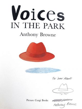 VOICES IN THE PARK. Anthony Browne