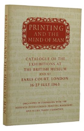 PRINTING AND THE MIND OF MAN. John Carter