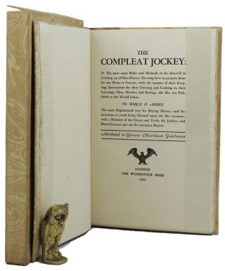THE COMPLEAT JOCKEY:. Gervase Markham