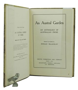 AN AUSTRAL GARDEN. Mary Grant Bruce, Donald McLachlan, Contributor