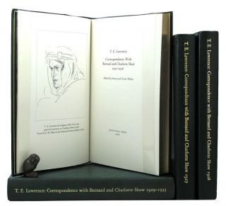 CORRESPONDENCE WITH BERNARD AND CHARLOTTE SHAW. T. E. Lawrence