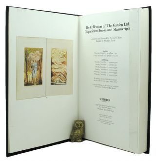 THE COLLECTION OF THE GARDEN LTD. MAGNIFICENT BOOKS AND MANUSCRIPTS. Haven O'More, Compiler