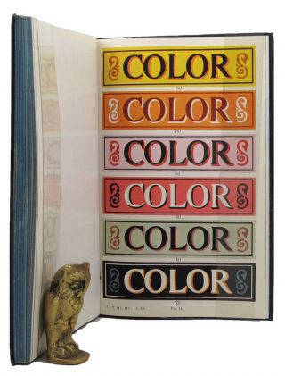 SHOW-CARD DESIGNING - COLOR SCHEMES. E. L. Koller