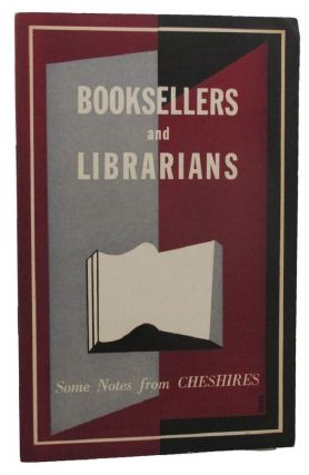 BOOKSELLERS AND LIBRARIANS. F. W. Cheshire, Pty. Ltd