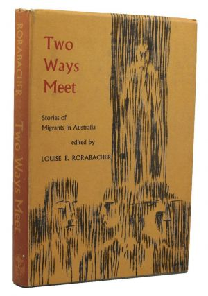 TWO WAYS MEET. Louise E. Rorabacher