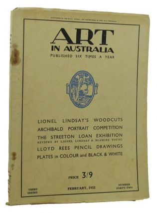 ART IN AUSTRALIA: THIRD SERIES, NUMBER FORTY-TWO. Art in Australia 03/42