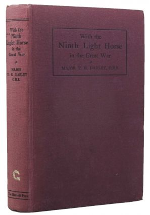 WITH THE NINTH LIGHT HORSE IN THE GREAT WAR.