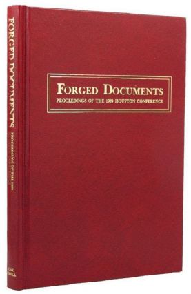 FORGED DOCUMENTS. Pat Bozeman