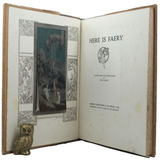 HERE IS FAERY. Furnley Maurice, Frank Wilmot, R. L. Newmarch, Pseudonym