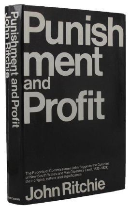 PUNISHMENT AND PROFIT. John Bigge, John Ritchie