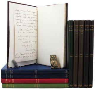 LETTERS FROM JOHN RUSKIN TO VARIOUS CORRESPONDENTS. John Ruskin