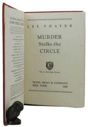 MURDER STALKS THE CIRCLE. Lee Thayer, Pseudonym
