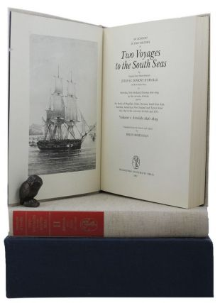 An account in two volumes of TWO VOYAGES TO THE SOUTH SEAS. Jules S-C Dumont d'Urville