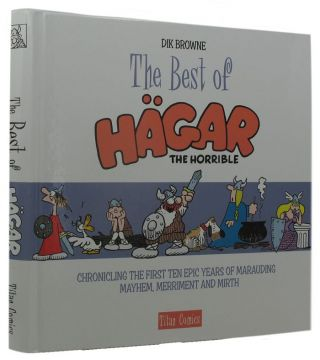 HAGAR THE HORRIBLE. Dik Browne