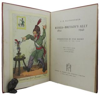 RUSSIA - BRITAIN'S ALLY 1812-1942. F. D. Klingender