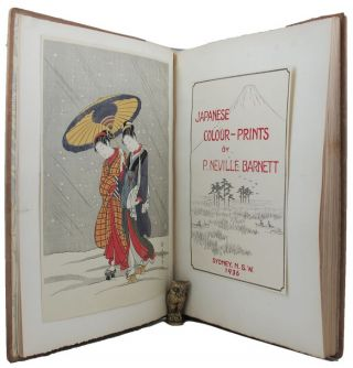 JAPANESE COLOUR-PRINTS. P. Neville Barnett