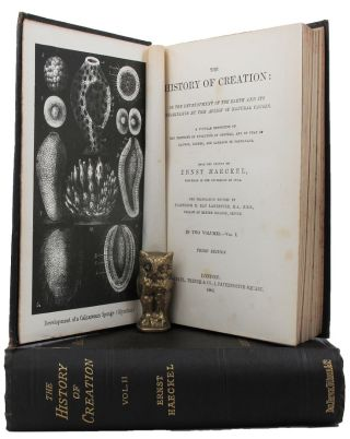 THE HISTORY OF CREATION:. Ernst Haeckel