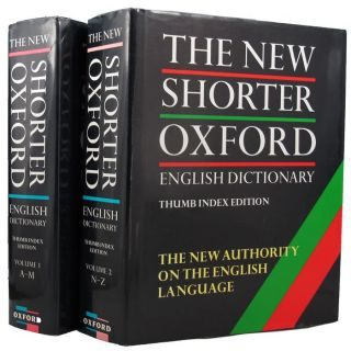 THE NEW SHORTER OXFORD ENGLISH DICTIONARY on historical principles. Lesley Brown