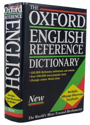 THE OXFORD ENGLISH REFERENCE DICTIONARY. Judy Pearsall, Bill Trumble